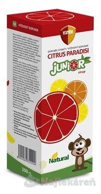 VIRDE Citrus paradisi Junior sirup