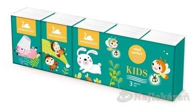 HARMONY KIDS papierové vreckovky