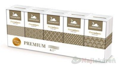 HARMONY PREMIUM papierové vreckovky