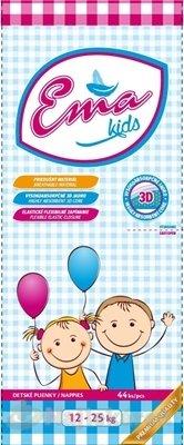 Ema kids detské absobčné plienky (12-25 kg) savosť 1040 ml, 44 ks