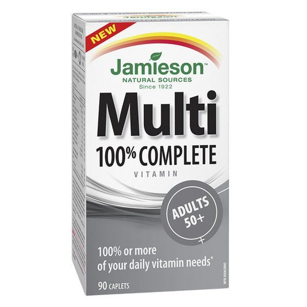 Jamieson Multi Complete Adults 50+ 90 cps