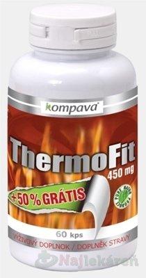 kompava ThermoFit 450 mg výživový doplnok, 90ks