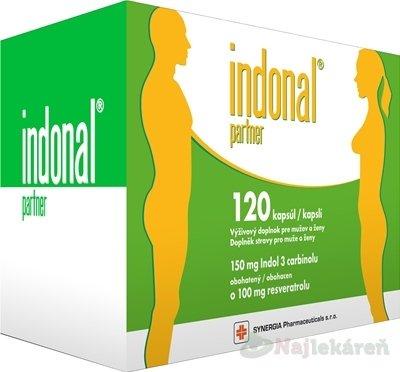 Indonal partner výživový doplnok 120ks