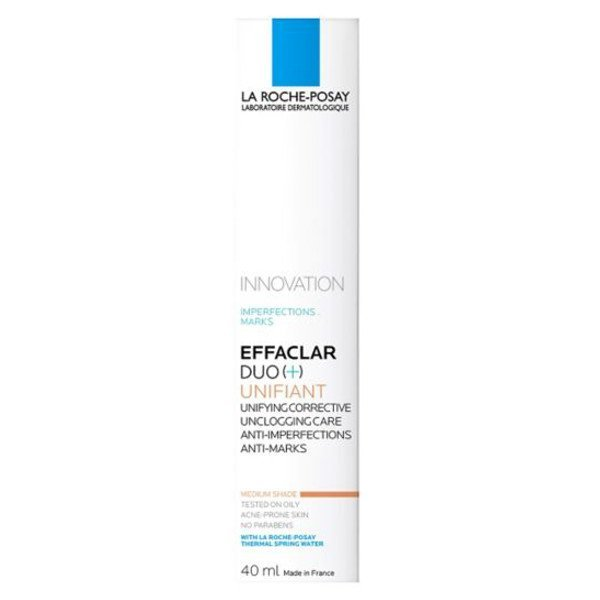 La Roche-Posay EFFACLAR DUO+ medium shade 40 ml