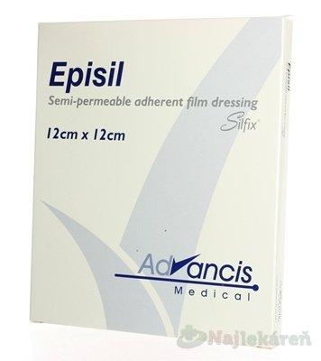 Vellafilm (Episil) krytie na rany silik.transparentné 12x12cm 10ks