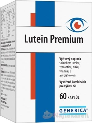 Generica Lutein 60 cps.