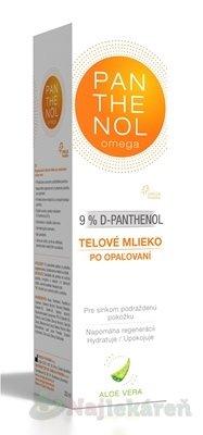 Omega Pharma Panthenol Omega telové mlieko Aloe Vera 9% 250 ml