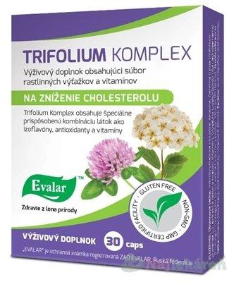 Evalar Trifolium komplex na zníženie cholesterolu 30 cps.
