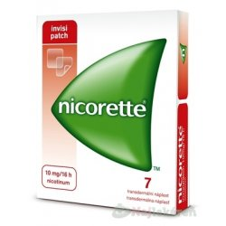 Nicorette invisipatch 10 mg/16 h transder.…