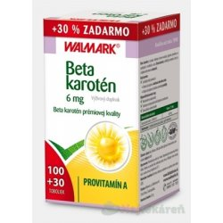WALMARK Beta karotén 6mg