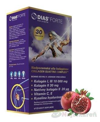 Medochemie Ltd Dias Forte 30 vrecúšok