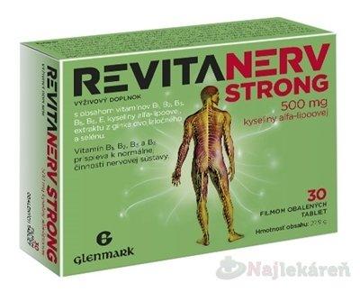 Master Pharm Revitanerv Strong 30 tabliet