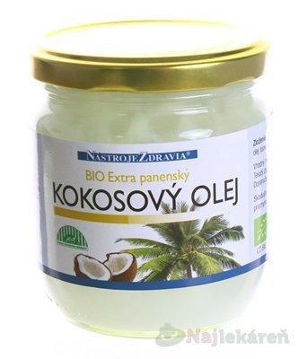 BIO Extra panenský KOKOSOVÝ OLEJ 400 ml - Nastroje Zdravia Extra panenský kokosový olej 400 ml