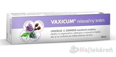 Vaxicum relaxačný krém 100 ml