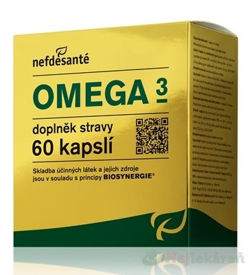 Nefdesanté Omega 3 60CPS