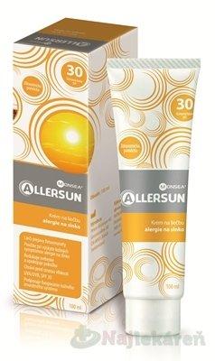 ALLERSUN krém na liečbu alergie na slnko