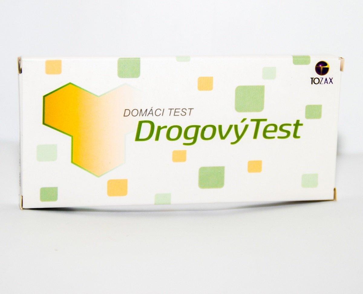 Tozax Multidrogový test – 10 druhov drog jednokrokový test (COC, THC, MOP, MET, AMP, BZO, BAR, MTD, PCP, TCA v moči) 1 ks