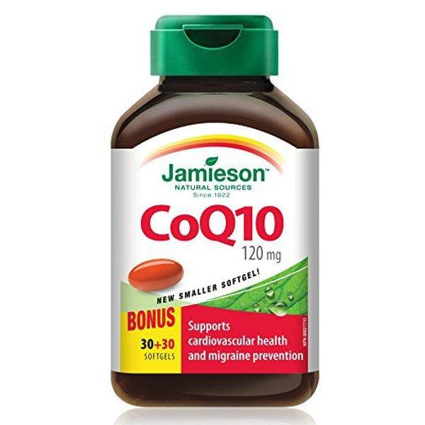 Jamieson Koenzým Q10 120 mg 60 cps