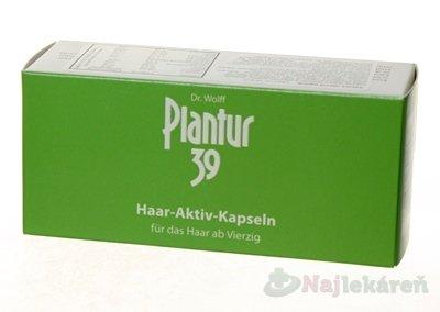 Plantur 39 Aktívne kapsule - Dr.Wolf Plantur 39 60 aktívnych kapsúl