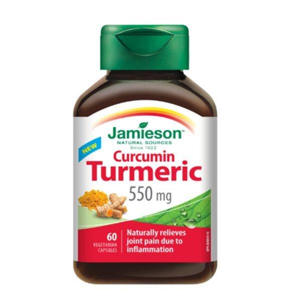 Jamieson Kurkumín 550 mg 60 cps