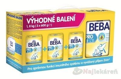 Nestlé BEBA PRO / OPTIPRO 2 - Trojbalenie