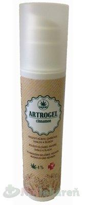 ARTROGEL cinnamon, masážny gél, 200 ml - BigBio konopný masážny gél hrejivý Artrogel 200 ml