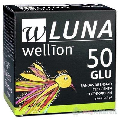 Wellion Luna GLU testovacie prúžky k prístroju 50 ks