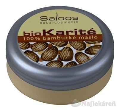 Saloos Bio Karité 100 % Bambucké máslo 50 ml