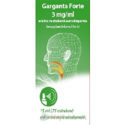 Garganta Forte 3 mg/ml