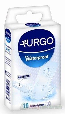 URGO Waterproof vodeodolná náplasť priehľadná, 2 veľkosti, 10ks