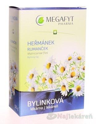 MEGAFYT Bylinková lekáreň RUMANČEK, 50 g - MEGAFYT RUMANČEKOVÝ KVET SYPANÝ 50 g