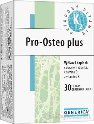 GENERICA Pro-Osteo plus, 30 ks - Generica Pro-Osteo plus vrecúška 30 ks