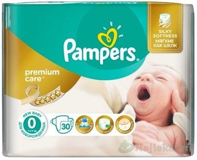 Pampers Premium Care 0 NEWBORN plienky 30 ks