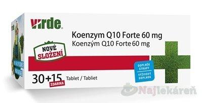 Virde Koenzym Q10 Forte 45 tbl.