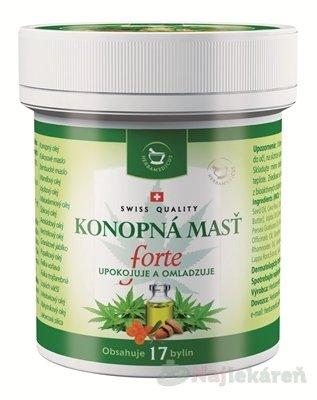 Herbamedicus Konopná masť Forte 125 ml