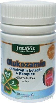 JutaVit Glukozamín chondroitín kolagén 6 Komplex 72 tbl.