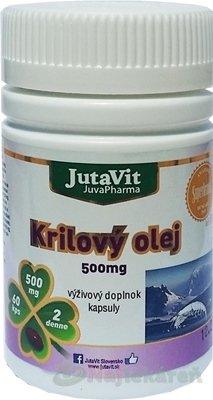 JutaVit Krilový olej 500 mg 60 cps.
