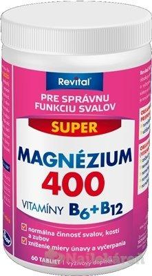 Revital Super 400mg +B6 +B12 60 tabliet