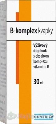 Generica B-KOMPLEX KVAPKY 30ML