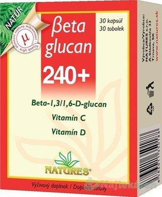 Natures Beta Glucan 240 30 tbl.
