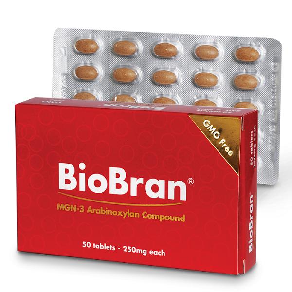 Imunotop BioBran 250 mg 50 tbl.