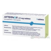 AFTERNOR 1,5 mg tableta