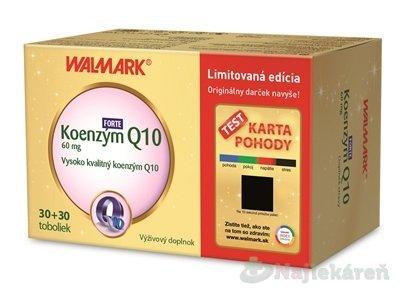 WALMARK Koenzým Q10 FORTE 60 mg