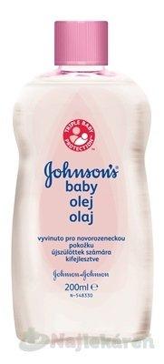 Johnson & Johnson baby olej 200 ml