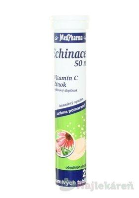 Farmax Vitamin C + zinek 20 šumivých tablet