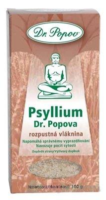DR. POPOV PSYLLIUM výživový doplnok, 100g