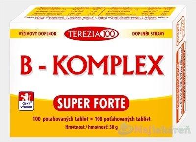 Terezia Company B-Komplex Super Forte 100 tabliet