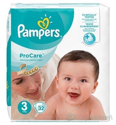 Pampers ProCare Premium 3 detské plienky 5 - 9 kg 1x32 ks