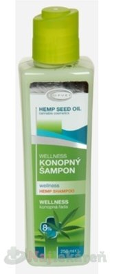 TOPVET Wellness konopný šampón 250 ml