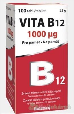 Vitabalans VITA B12 1000 µg